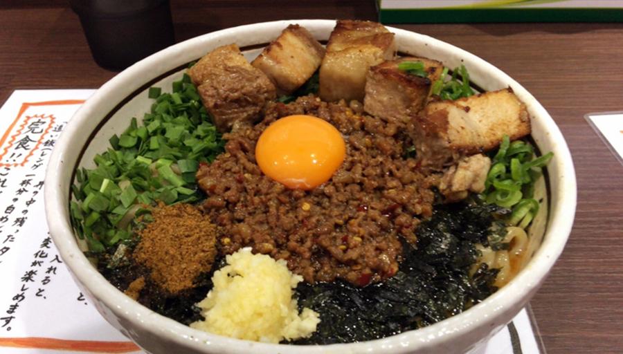 【台湾まぜそば】高田馬場の『麺屋はなび』がアメイジング美味しい