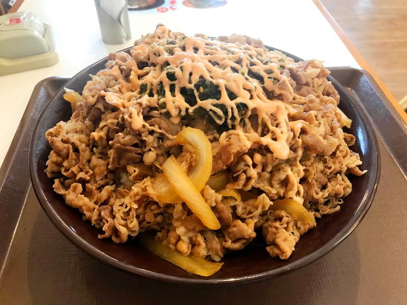 すき家 キング 牛 丼 値段