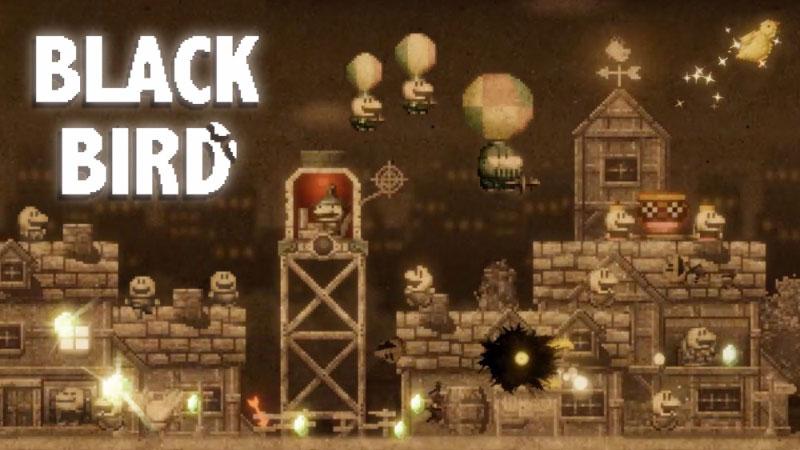 『BLACK BIRD』はダークな世界観で街を破壊できる良作シューティング